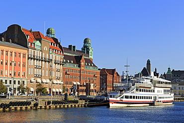 Inner Harbor, Malmo, Skane County, Sweden, Scandinavia, Europe