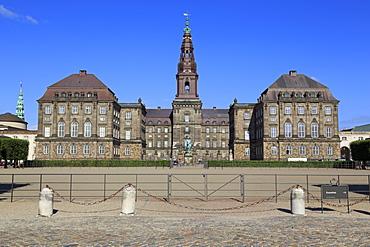 Christianborg Palace, Copenhagen, Zealand, Denmark, Scandinavia, Europe