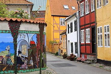 Historic Old Town, Helsingor, Zealand, Denmark, Scandinavia, Europe