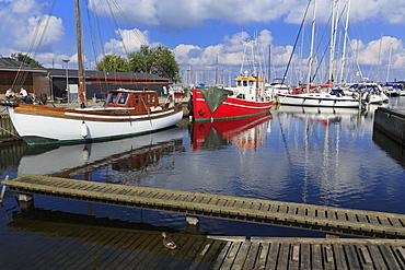 Marina, Roskilde, Zealand, Denmark, Scandinavia, Europe
