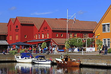 Fish Market, Kristiansand, Agder County, Norway, Scandinavia, Europe