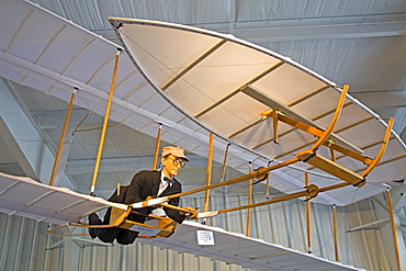 Wilbur Wright Plane, Stafford Air & Space Museum, Historic Route 66, Oklahoma, United States of America, North America