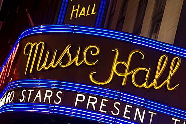 Radio City Music Hall, Theater District, Midtown Manhattan, New York City, New York, United States of America, North America