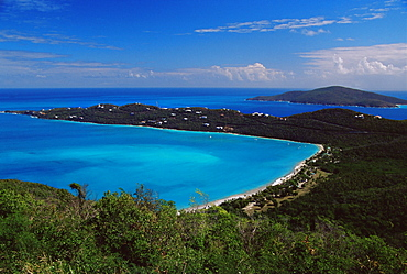 Magens Bay, St. Thomas, U.S. Virgin Islands, West Indies, Caribbean, Central America