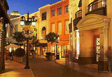 Via Rodeo, Beverly Hills, Los Angeles, California, United States of America, North America