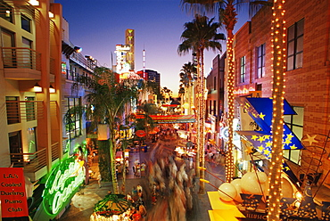 Citywalk, Universal Studios, Hollywood, Los Angeles, California, United States of America, North America