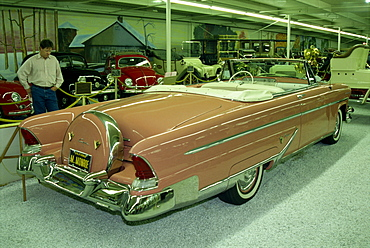 Marilyn Monroe's 1955 Lincoln, Imperial Palace Automobile Museum, Las Vegas, Nevada, United States of America, North America
