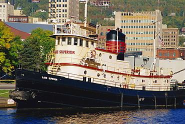 Lake Superior Tug Boat Museum, Duluth Harbor, Minnesota, United States of America, North America