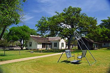 President Johnson's boyhood home, Johnson City, Greater Austin area, Texas, United States of America, North America