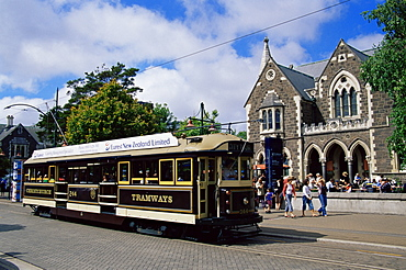 Arts Centre, Christchurch, Canterbury, South Island, New Zealand, Pacific