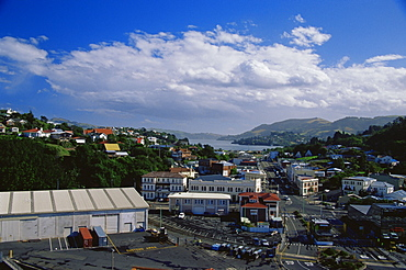 Port Chalmers Docks, Dunedin region, Otago, South Island, New Zealand, Pacific
