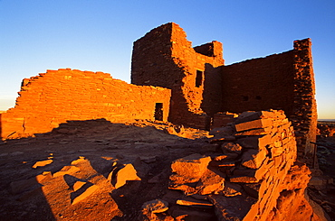 Wukoki pueblo ruins, Wupatiki National Monument, Flagstaff, Arizona, United States of America, North America