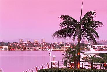 Lido Channel, Newport Beach, Orange County, California, United States of America, North America