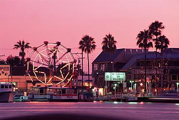 Ferris wheel, Balboa Fun Zone, Newport Beach, Orange County, California, United States of America, North America
