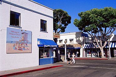 Downtown Balboa, Newport Beach, Orange County, California, United States of America, North America