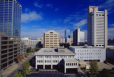Skyline, Little Rock, Arkansas, United States of America, North America