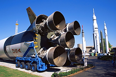 Rocket Park, U.S. Space & Rocket Center, Huntsville, Alabama, United States of America, North America