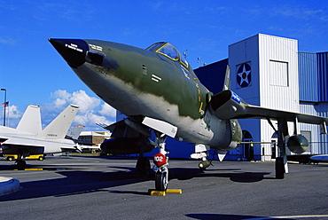 Fighter aircraft, U.S.S. Alabama Battleship Memorial Park, Mobile, Alabama, United States of America, North America