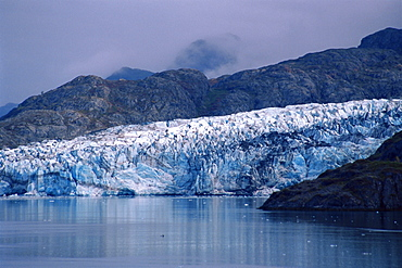 Lamplugh Glacier, John Hopkins Inlet, Glacier Bay National Park, Alaska, United States of America, North America