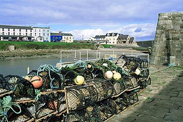 Mullaghmore harbour, County Sligo, Connacht, Republic of Ireland, Europe