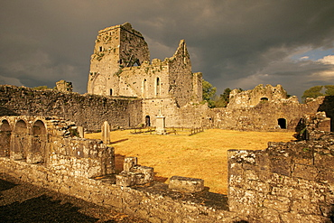 Athassel Priory, Golden, County Tipperary, Munster, Republic of Ireland, Europe