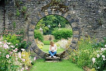 Walled garden, Mount Juliet Estate, County Kilkenny, Leinster, Republic of Ireland, Europe