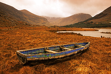 Cummeenduff Lake, Black Valley, Killarney area, County Kerry, Munster, Republic of Ireland, Europe