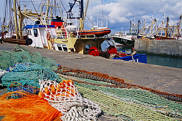 Kilmore Quay harbour, County Wexford, Leinster, Republic of Ireland, Europe
