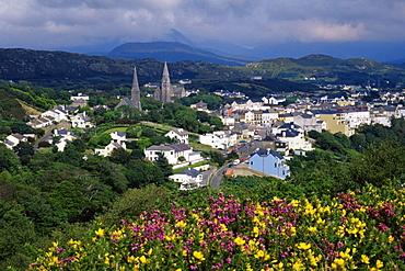 Clifden Town, County Galway, Connacht, Republic of Ireland, Europe