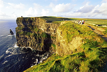 Cliffs of Moher, County Clare, Munster, Republic of Ireland, Europe