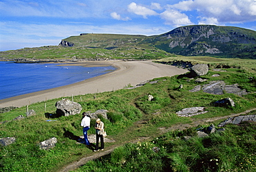 Glencolumbkille Beach, County Donegal, Ulster, Republic of Ireland, Europe
