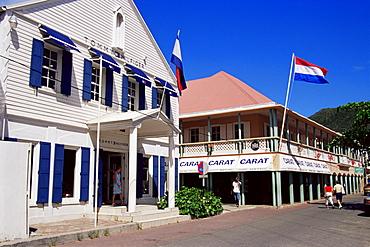 Front Street, Philipsburg, St. Maarten Island, West Indies, Caribbean, Central America