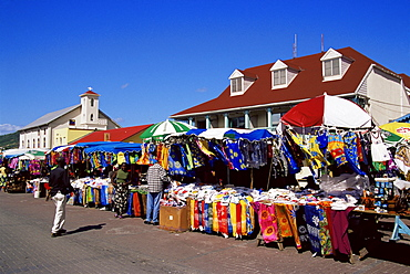 Market, Philipsburg, St. Maarten, West Indies, Caribbean, Central America