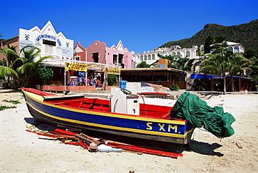 Frontstreet village, Philipsburg, St. Maarten, West Indies, Caribbean, Central America