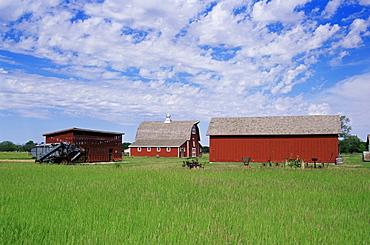 Stuhr Museum of the Prairie Pioneer, Grand Island, Nebraska, United States of America, North America