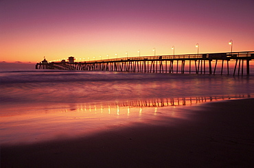 Imperial Beach Pier, Pacific Beach, San Diego, California, United States of America, North America