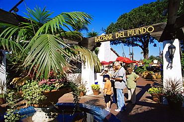 Bazaar del Mundo, Old Town State Historic Park, San Diego, California, United States of America, North America