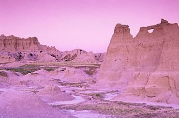 Northeast entrance area, Badlands National Park, South Dakota, United States of America, North America