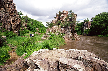 Palisades State Park, Garretson, Greater Sioux Falls area, South Dakota, United States of America, North America