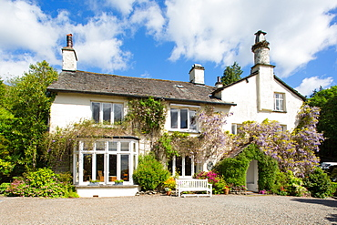 Rydal Mount, Wordsworth's Home, Rydal, Lake District, Cumbria, England, United Kingdom, Europe