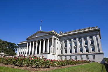 U.S. Treasury Building, Washington D.C., United States of America, North America