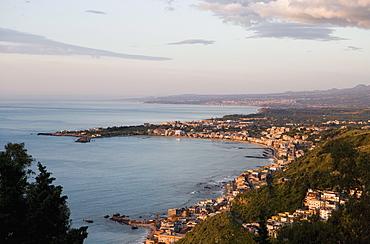 Morning light, Giardini Naxos, Sicily, Italy, Mediterranean, Europe