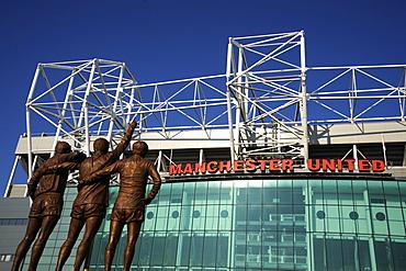 Manchester United Football Club Stadium, Old Trafford, Manchester, England, United Kingdom, Europe