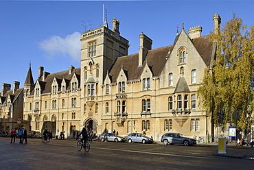 Balliol College, Broad Street, Oxford, Oxfordshire, England, United Kingdom, Europe
