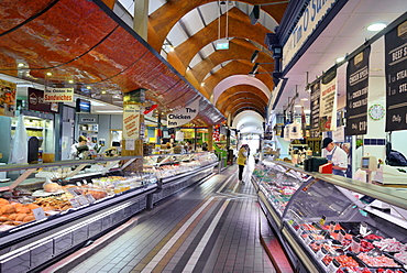 Market stalls, The English Market, Cork, County Cork, Munster, Republic of Ireland, Europe