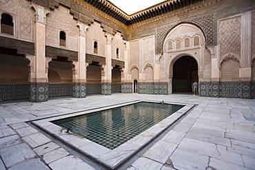 Medersa Ben Youssef, Marrakech, Morocco, North Africa, Africa
