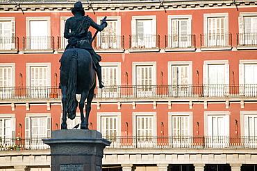 Plaza Mayor, Madrid, Spain, Europe - 793-182