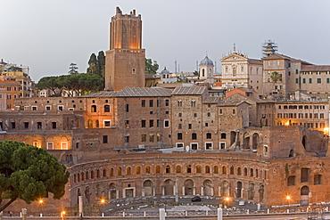 Foro Traiano (Trajan's Forum), Rome, Lazio, Italy, Europe