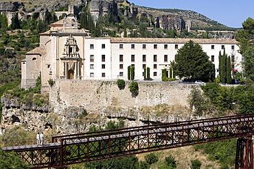 Convento de San Pablo, now a Parador de Turismo, Cuenca, Castilla-La Mancha, Spain, Europe