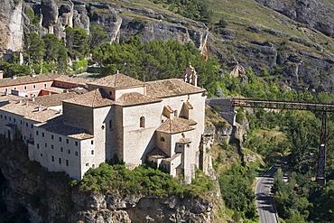 Convento de San Pablo now a Parador de Turismo, Cuenca, Castilla-La Mancha, Spain, Europe